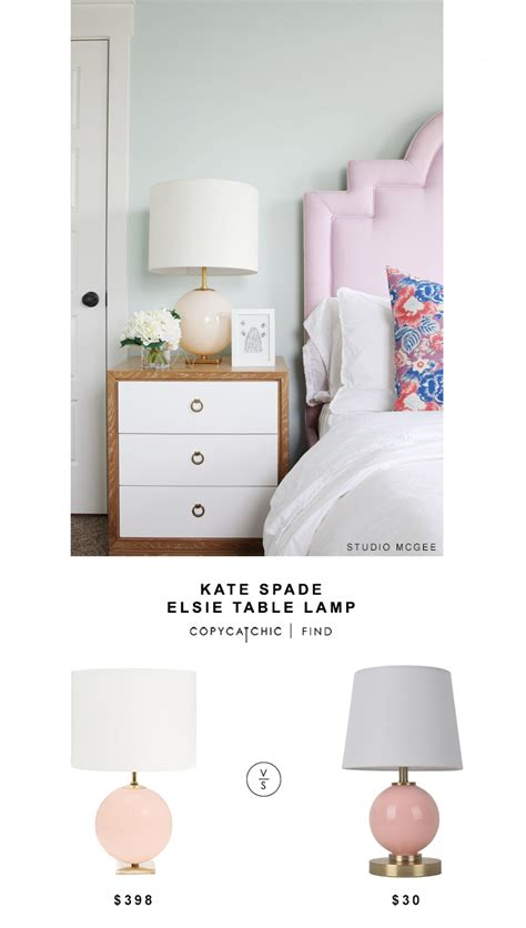Board Bench Press by Kate Spade Elsie Table Lamp Copy Cat Chic