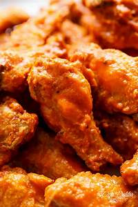 Crispy Buffalo Chicken Wings  Baked