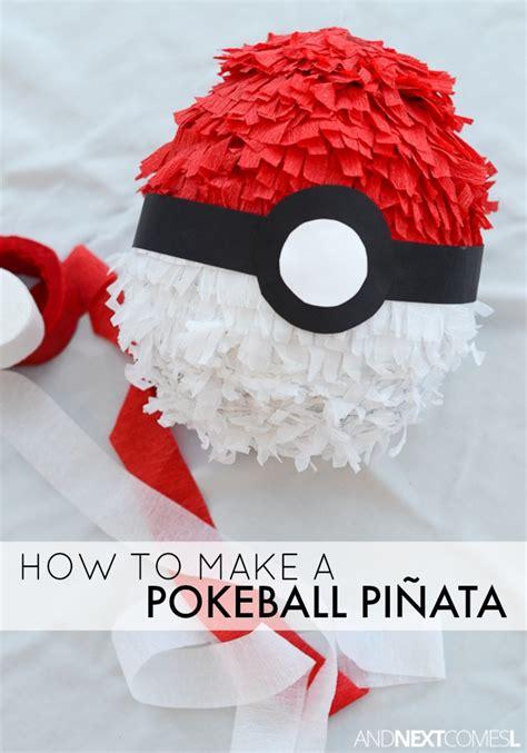 how to make a pinata how to make a pokeball pinata and next comes l