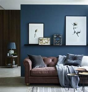 couleur peinture salon conseils et 90 photos pour vous With quel mur peindre en fonce 18 comment associer la couleur gris en decoration deco cool