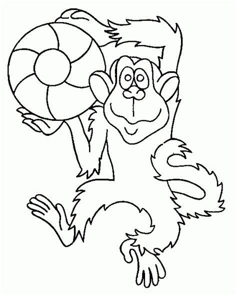 desenhos de macacos para colorir desenhos para pintar e imprimir