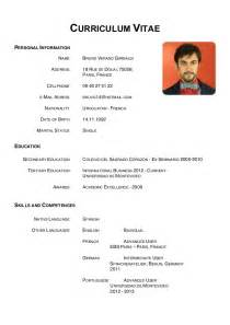 curriculum vitae format download doc file curriculum vitae personal information name address cellphone recentresumes com