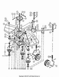 Dr Power 46 U0026quot  Lawn Deck Parts Diagram For Deck Drive Assembly