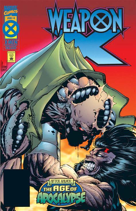 weapon vol 1995 marvel apocalypse age comics adam kubert wikia comic read attack