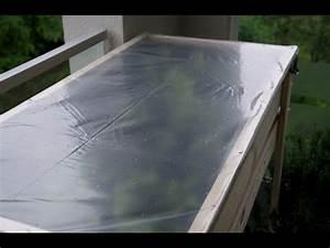 Abdeckung Für Hochbeet : tisch hochbeet abdeckung selber machen einkauftipps balkon garten youtube ~ Watch28wear.com Haus und Dekorationen