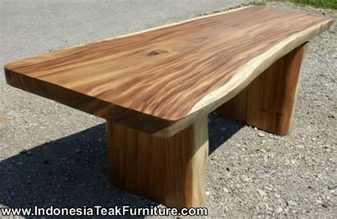 wooden table outdoor dining table bali furniture