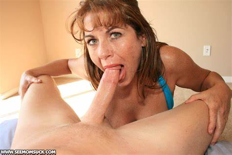 Teens Angel Gives A Blow To Mature Prick