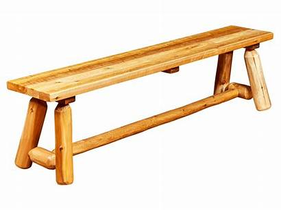 Bench Rustic Outdoor Wood Benches Furniture Garden