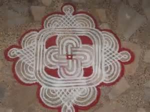 Simple Rangoli Kolam Designs