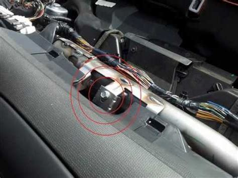 nissan micra  stereo remove replace youtube