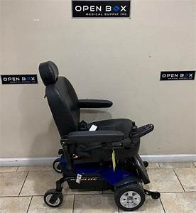 Pride Jazzy Select Elite Power Wheelchair  Used Electric Wheelchair