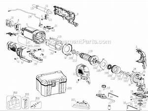 Dewalt Dwe315k Parts List And Diagram
