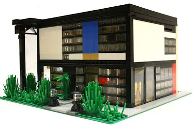 Moderne Lego Häuser by Lego Replicas Of Eames Corbusier And Kaufmann