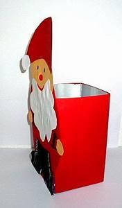 Basteln Mit Milchtüten : weihnachten basteln nikolaus milchtuete seitenansicht basteln basteln weihnachten und ~ Frokenaadalensverden.com Haus und Dekorationen