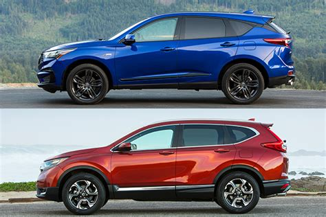 Crv Vs Rdx 2016 by 2019 Acura Rdx Vs 2018 Honda Cr V Which Is Better
