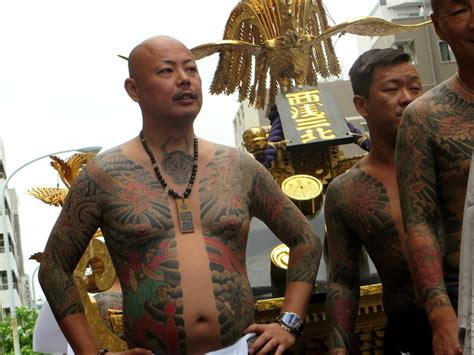 japanese mafia strip   police station dazed