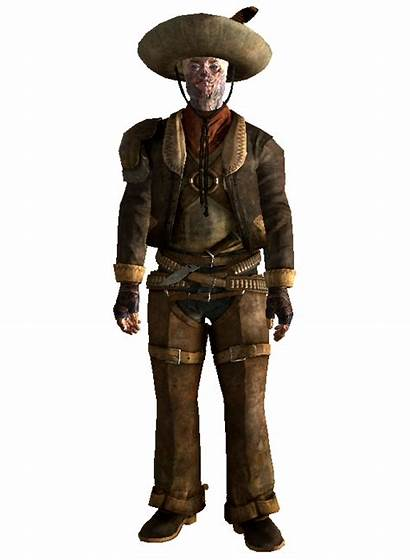 Fallout Armor Raul Vegas Cowboy Ghoul Mexican