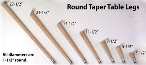 taper legs  pack capitol city lumber