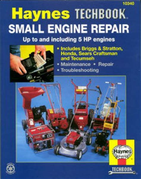 service manual small engine maintenance and repair 1995 pontiac grand am windshield wipe small engine 5 horsepower and smaller repair manual by haynes