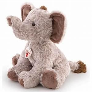 Peluche Geante Elephant : peluche l phant 42 cm trudi mynoors ~ Teatrodelosmanantiales.com Idées de Décoration