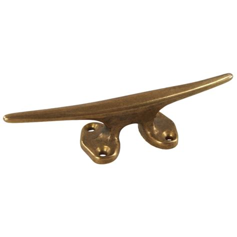 Brass Boat Cleats by Acute Brass Cleat Marine