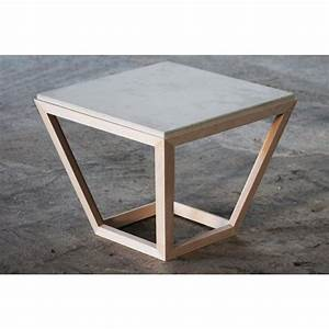 Tisch Aus Holz : betonidee cretable tisch aus holz und beton ~ Watch28wear.com Haus und Dekorationen