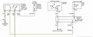 Driver Side Power Window Wiring Diagram  The Switch D1