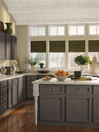 Benjamin Moore Gray Kitchen Cabinets