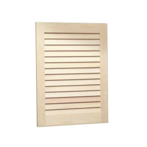 louvered 16 in w x 22 in h x 4 5 in d recessed medicine
