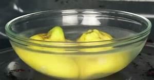 Nettoyer Micro Onde Citron : pendant 3 minutes faites chauffer un citron et de l eau ~ Melissatoandfro.com Idées de Décoration