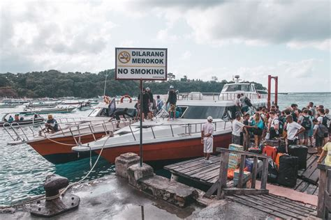 Ferry Gili T To Lombok how to get from gili trawangan to lombok the abroad