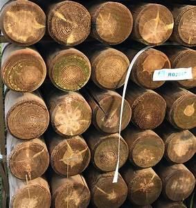 Poteau Bois Rond 3m : rondin de bois diam 14cm rondin bois autoclave 14x200 cm ~ Voncanada.com Idées de Décoration