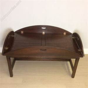 butlers tray top coffee table antiques atlas With antique tray top coffee table