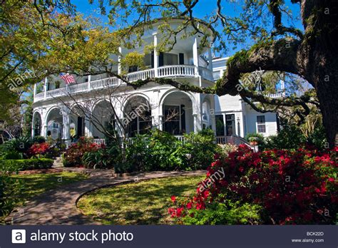 Garden South Style by Beautiful Garden At A Historical Style Home