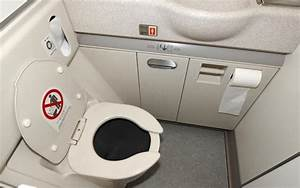 This is how airplane toilets work for How to use airplane bathroom