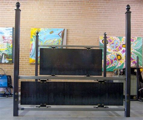 steel welding beds the weld house modern industrial steel furniture metal