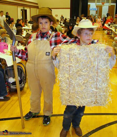 halloween   farm  diy costume ideas modern farmer