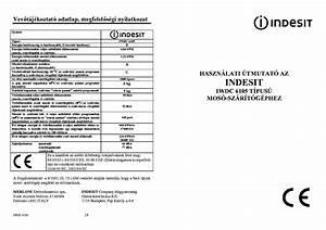 Indesit Iwdc6105 Usermanual Service Manual Download