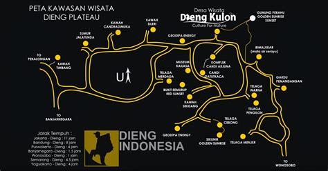 peta wisata dieng indonesia