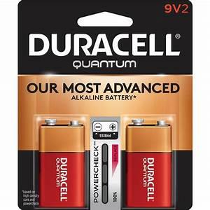 9 Volt Batterie : duracell quantum alkaline 9 volt battery 2 pack 004133366530 the home depot ~ Markanthonyermac.com Haus und Dekorationen