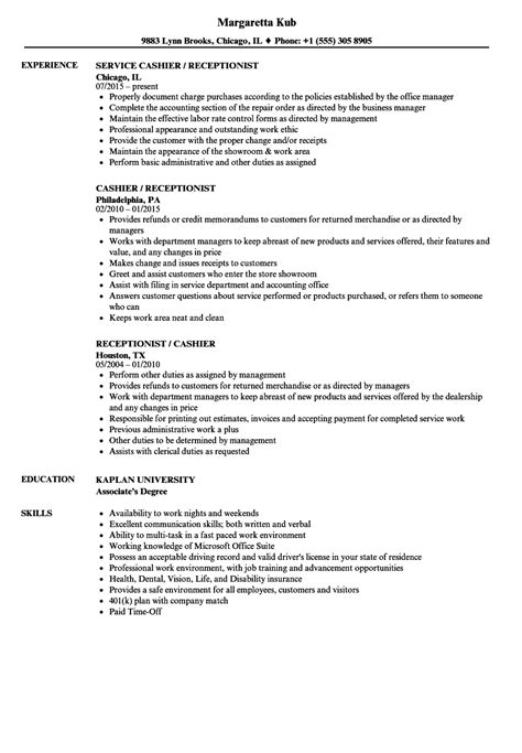 Cashier Resume Examples 2019 - BEST RESUME EXAMPLES