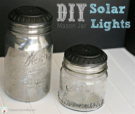 diy jar solar lights today s creative
