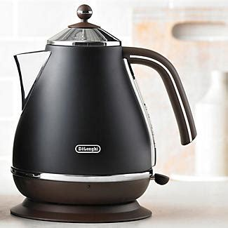 Delonghi Icona Kettle And Toaster Black by Delonghi Vintage Icona Kettle Black Lakeland