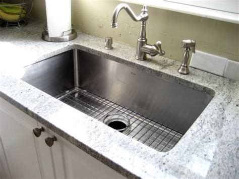 kraus stainless steel kitchen sinks kraus stainless steel kitchen sinks look amazing in your 8828