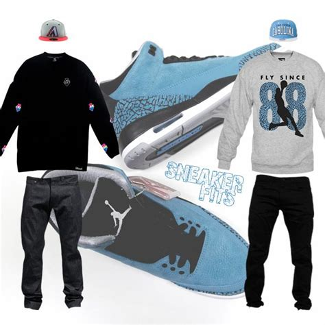 What To Wear With The Air Jordan 3 u0026quot;Powder Blueu0026quot; - SneakerFits | #Sneakerfits | Pinterest ...