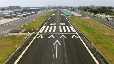 Landing On Airport Runway, Aerial Stock Footage Video (100 ...