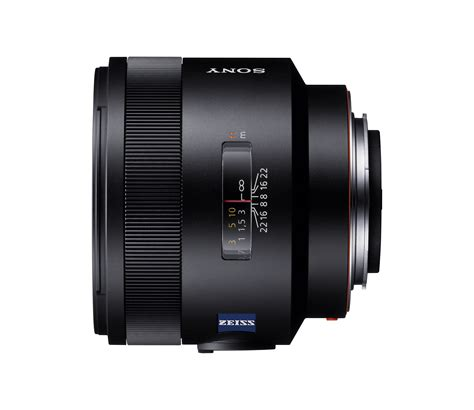 sony announces the sal 50f14z carl zeiss planar t 50mm f1
