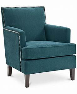 Kendall Fabric Accent Chair Quick Ship Furniture Macy39s