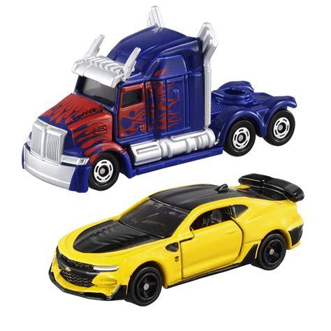 Tomica Die Cast Vehicles tomica the last optimus prime bumblebee cars
