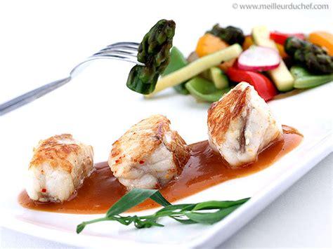 recette cuisine gastro plat gastronomique poisson